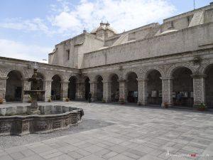 Peru, Arequipa, Kloster La Compania