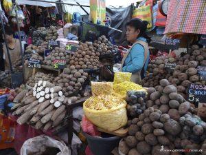 Peru, Arequipa, Kartoffeln, Markt