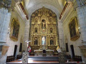 Peru, Arequipa, Inglesia La Compania, church