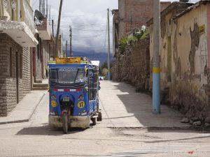 taxi, Peru, tuktuk, Chivay