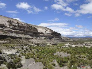 Felsen, Arequipa, Chivay, Peru