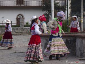 Peru, Colca Canyon, Yanque, Folklore