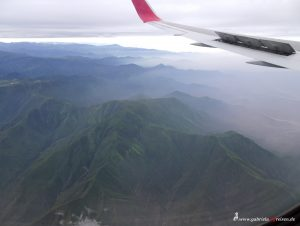 Peru, flying over