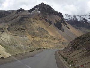 Peru, Chivay, Highway