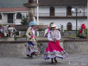 typical dance in Colca Canyon