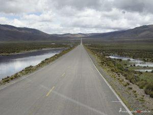 swampy region in the Andes in Peru
