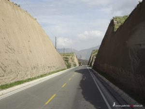 on the road to Chivay, Peru