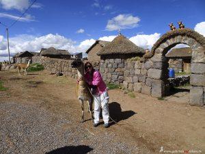 Peru, Aymara Bauernhof