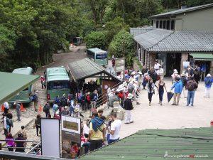 ticket booth of Machu Picchu