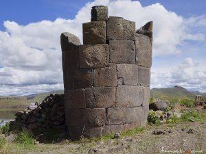 Peru, Inka Chullpa in Sillustani