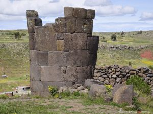 Peru, grave tower by Inkas