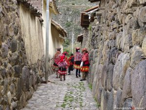 Peru, Inca village, Ollantaytambo
