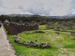 Inka Ruinen in Raqchi