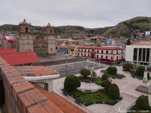 Peru, Puno, Titicacasee