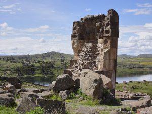 Inka Grabturm, Peru in Sillustani
