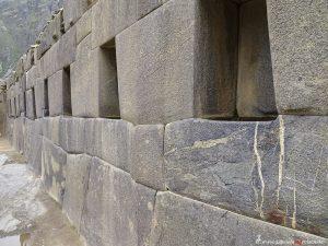 Peru, Inkaruinen in Ollantaytambo