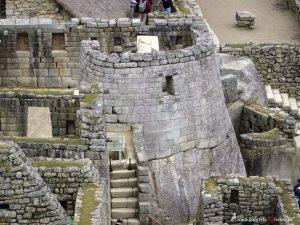 Peru, Inca temple