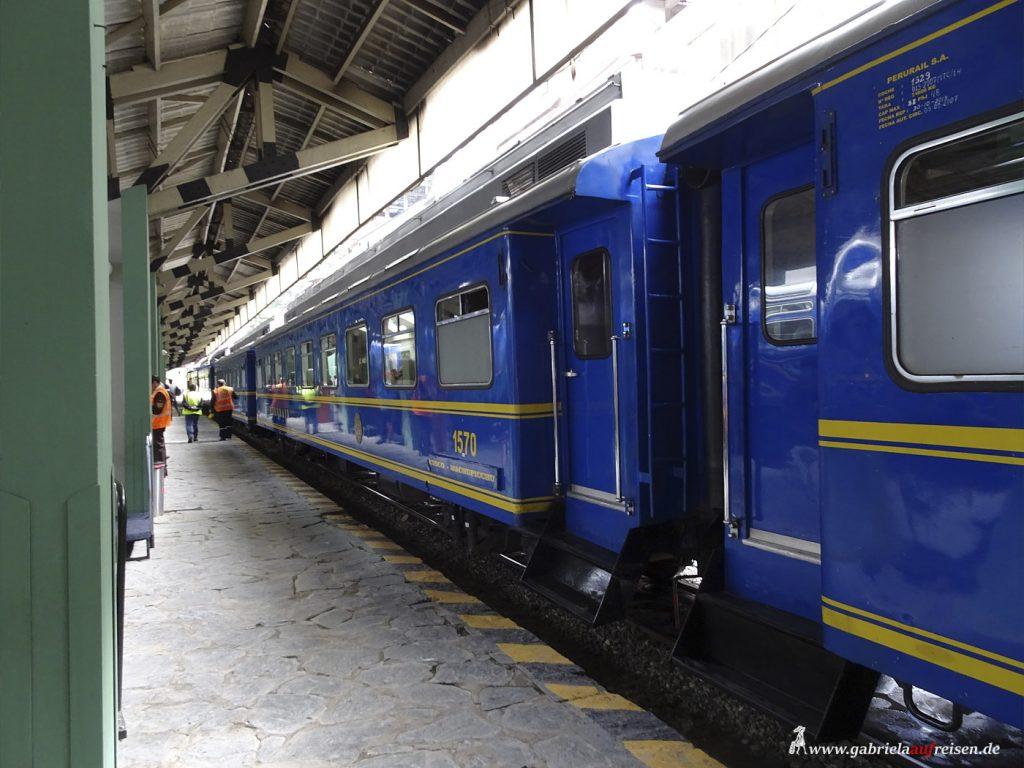 Peru, Machu Picchu Bahn