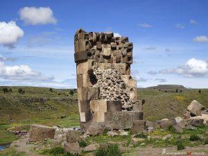 Peru, grave tower by Inkas