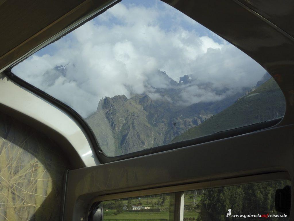 Peru, Machu Picchu Railway