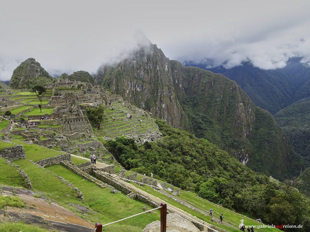 Peru, machu Picchu mit Huayna Picchu