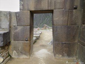 Peru, Inca door
