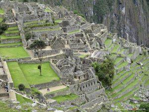 village of Machu Picchu