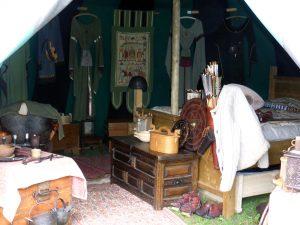 mittelalterliches Zelt
