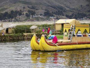 Peru, reed isles