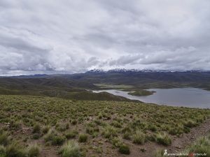 Peru, lake in the Andes