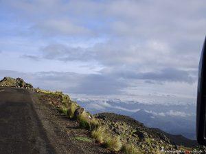 Peru, peaks of the Andes