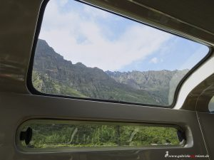 Peru, train trip