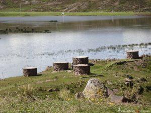 Peru, grave towers, pre-Inka