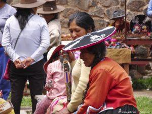 Peru, market in Raqchi