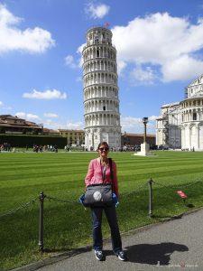 Gabriela in Pisa