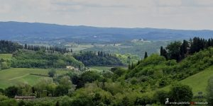 typical view over Tuscany