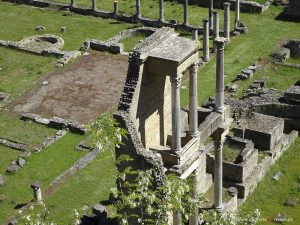 archeological site in Volterra