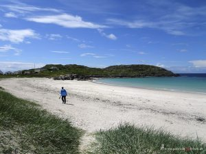 Scotish beach