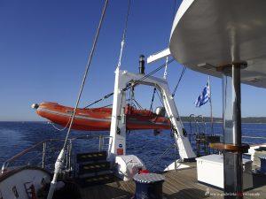 griechische Flagge der MS Panorama