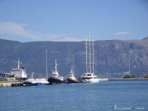 Lageplatz auf Korfu