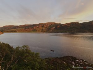 sunset in Ullapool