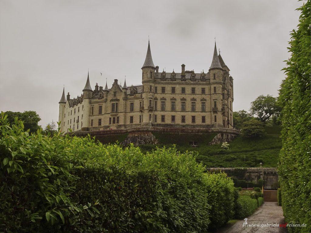 Garten von Dunrobin Castle