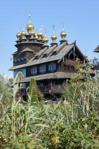 Nachbau eines russischen Klosters
