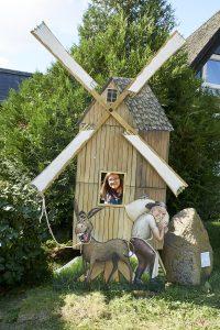 Fotopunkt im Windmühlenmuseum