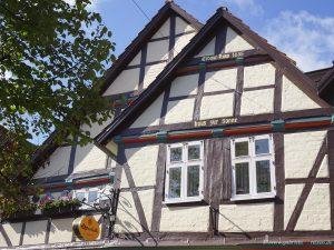 Jahrhunderte alte Häuser