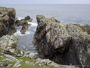 Cliff at Strathy Point