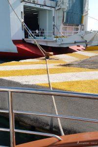 harbour of corfu