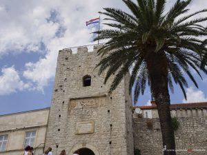 Korculas Stadtmauer