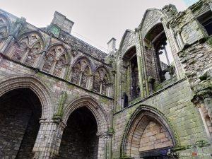 church ruins in Edinburgh