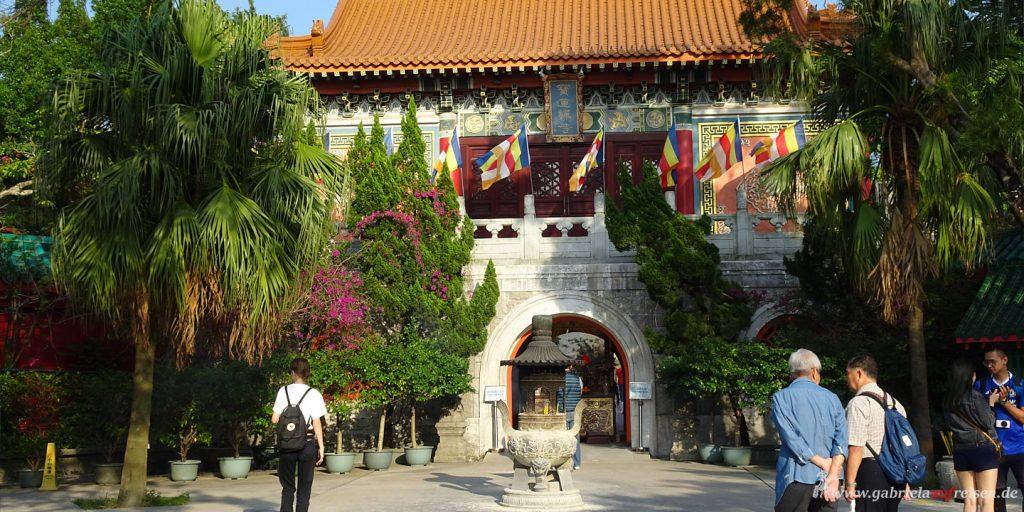 Kloster beim großen Buddha